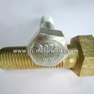 ASTM A307 Grade A Hex Cap Screws