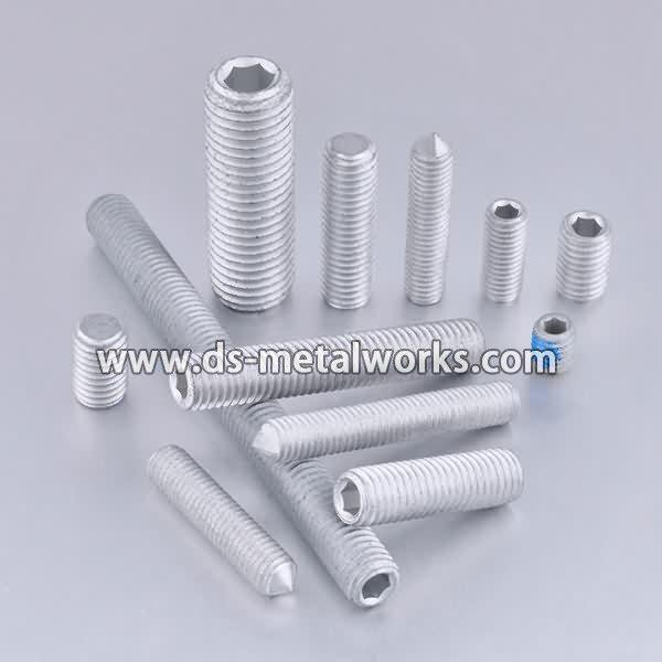Wholesale Discount ASTM F912 F912M Alloy Steel Socket Set Screws Wholesale to Honduras detail pictures